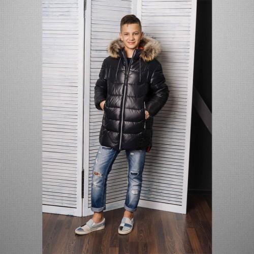 Куртка черная 3С-833 GnK