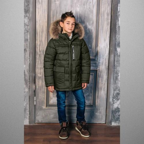 Куртка хаки 3С-834 зимняя