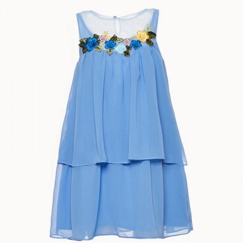 Платье Marasil голубое