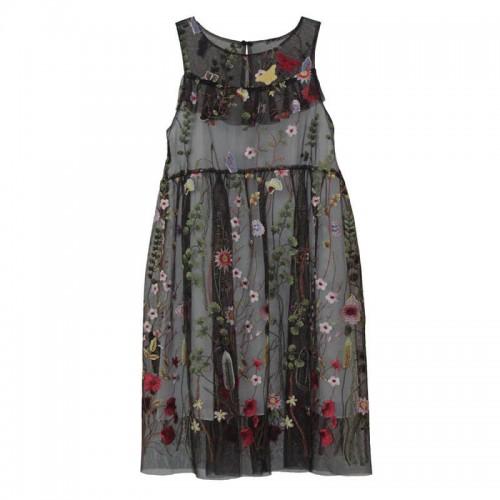 Платье-миди Marasil с вышивкой