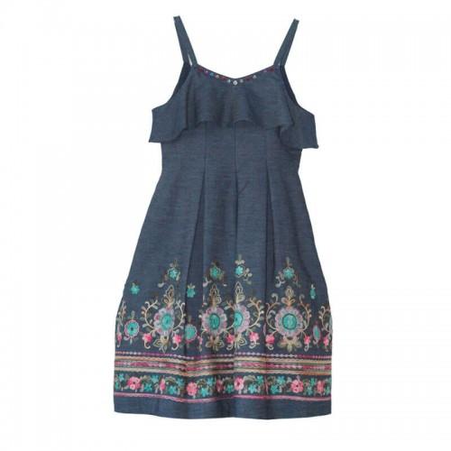 Платье Marasil 21802107 синее