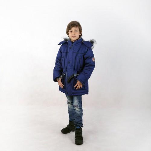 Куртка зимняя Данила blue