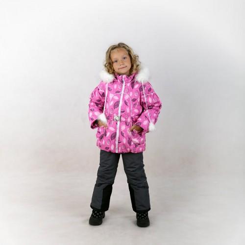 Комплект зимний Анюта розовый