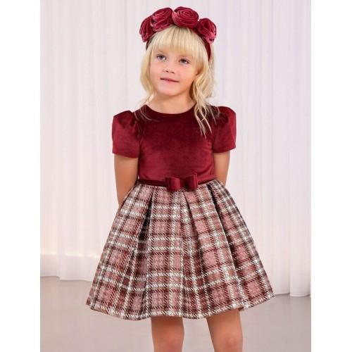 Платье гранатовое Abel & Lula 5550-49