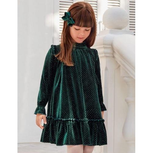 Платье бархатное Abel & Lula 5554-54