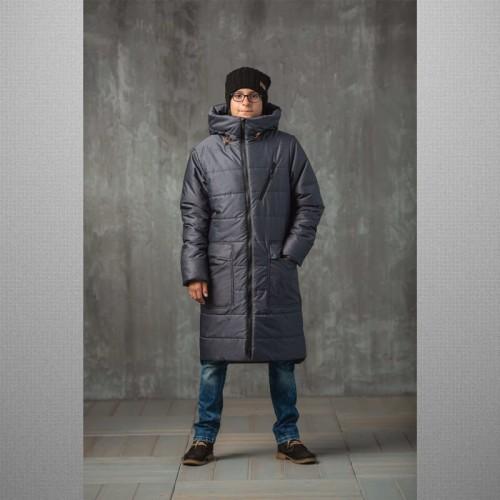 Пальто Джеймс 638-М (графит) Аврора
