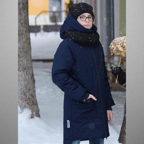 Пальто Джеймс blu 638-М зимнее