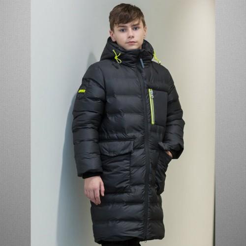 Пальто Уильям Аврора 643-М черное