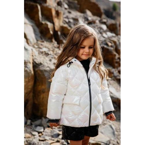 Куртка GNK С-708 молочный голография