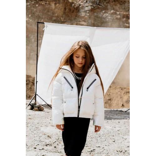 Куртка GNK С-709 молочный голография