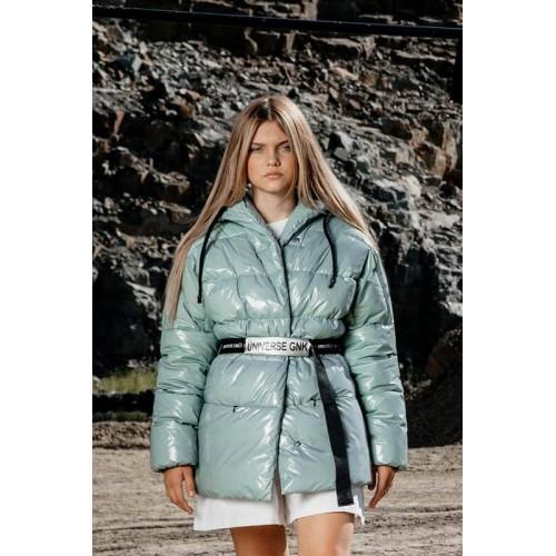 Куртка с ремнем GNK С-711 туман