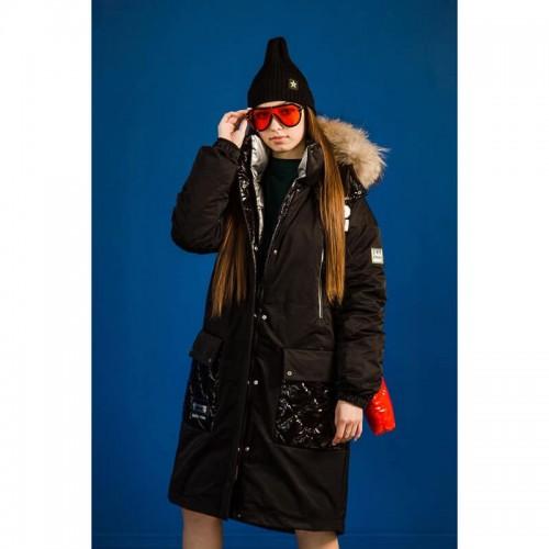 Куртка парка GNK ЗС-882 для девочки