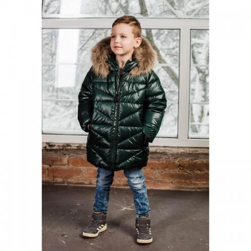 Куртка зимняя зеленая GNK 3С-884