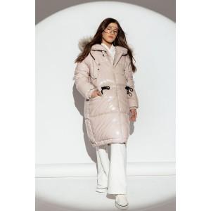 Пальто GNK ЗС-922 розовое