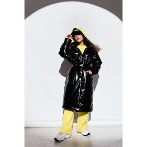 Пальто зимнее GNK ЗС-926 черное
