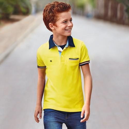 Футболка-поло 6139-94 желтая