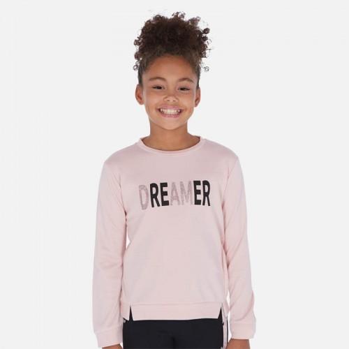 Пуловер розовый Mayoral