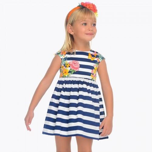 Платье Mayoral 3942-37 в полоску