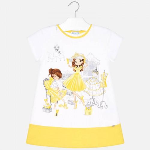 Платье Mayoral 3945-77 желтое