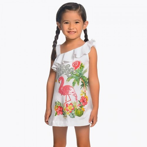 Платье Mayoral 3953-27 с цветами