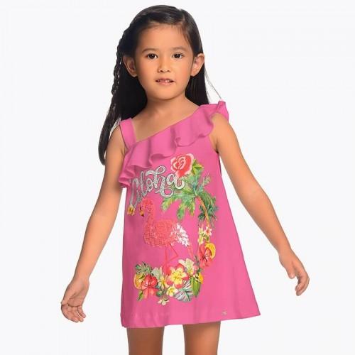 Платье Mayoral 3953-28 фламинго