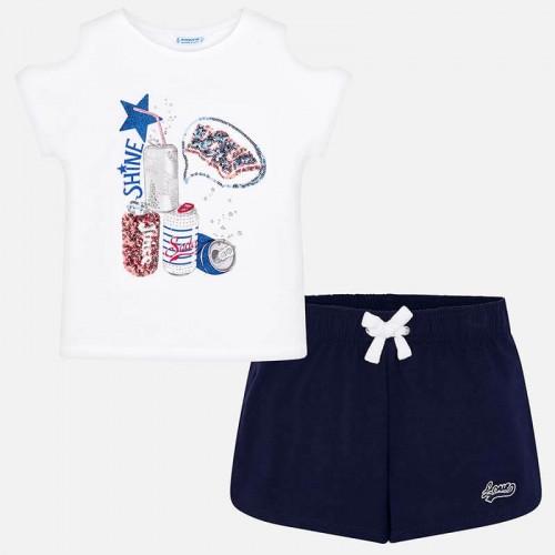 Комплект 2пр. Mayoral 6215-56 футболка и шорты
