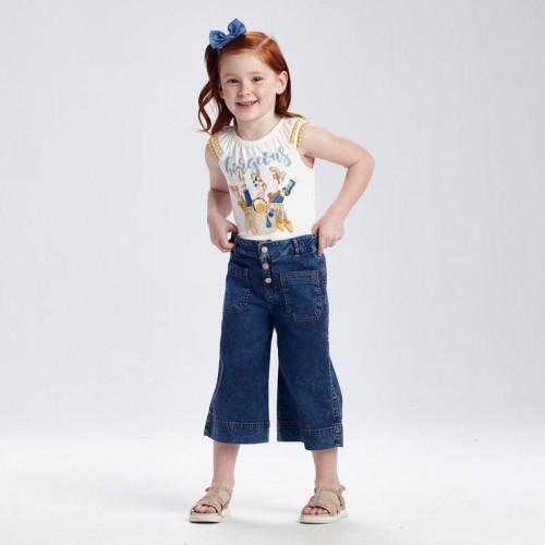 Кюлоты джинсовые Mayoral 3556-73