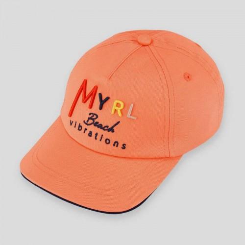 Бейсболка Mayoral 10065-17 цвет абрикос
