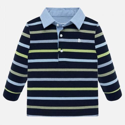 Рубашка-поло в полоску 2108-57 Mayoral