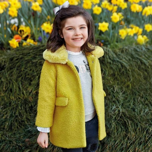 Пальто желтое 4413-40 Mayoral