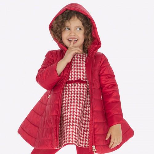 Пальто красное 4416-36 Mayoral