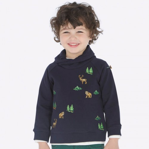 Пуловер с вышивкой 4432-7 Mayoral