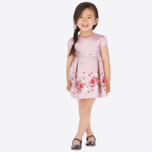 Розовое платье Mayoral 4922-81