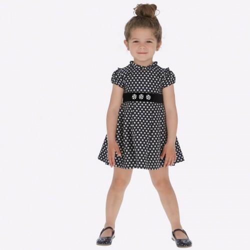 Платье в горошек 4932-95 Mayoral