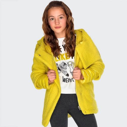 Пальто желтое 7426-61 Mayoral