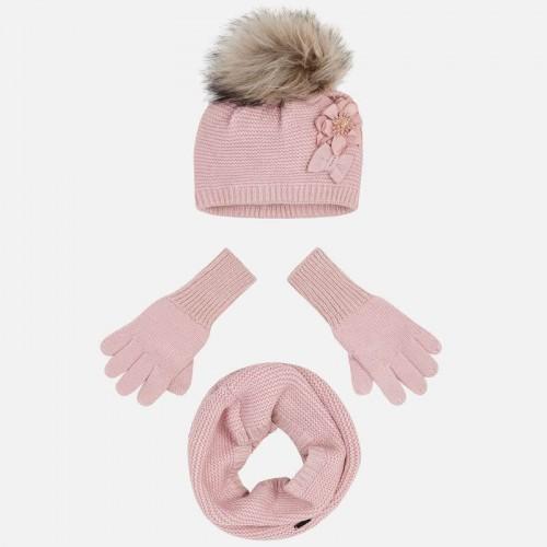 Шапка с шарфом, перчатками 10699-30 Mayoral
