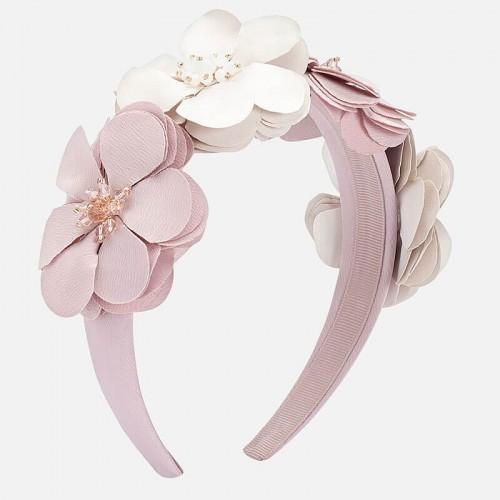 Ободок – цветочки розовый 10712-67 Mayoral