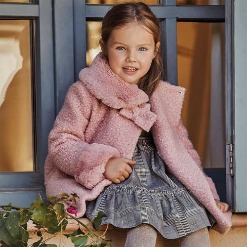Пальто розовое Mayoral 4411-50