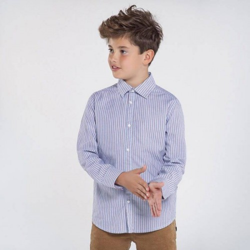Рубашка в полоску Nukutavake 7130-47