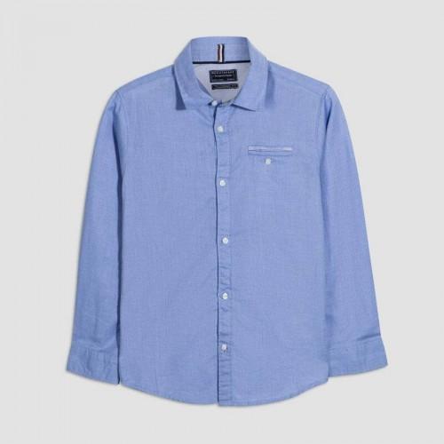 Рубашка голубая Nukutavake 7134-94
