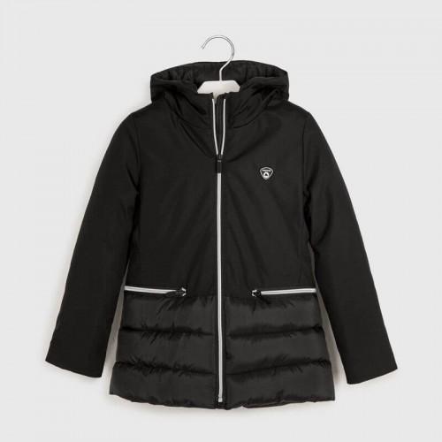 Куртка черная Mayoral 7419-44