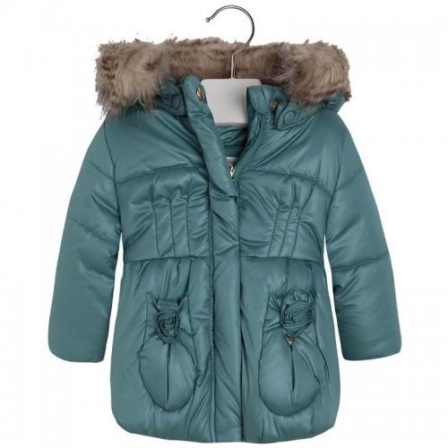 Куртка Mayoral 2494-35 с капюшоном