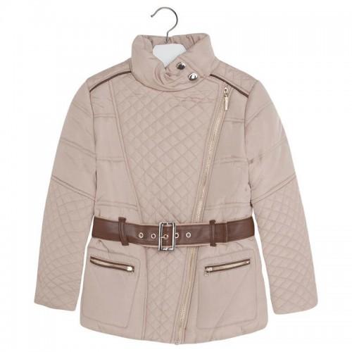 Бежевая стеганая куртка Mayoral 7491-96