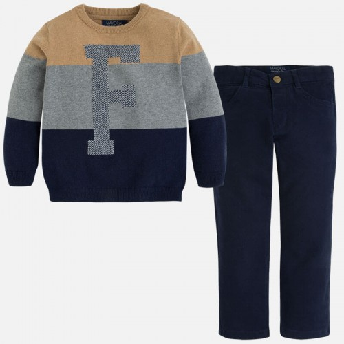 Комплект 2пр. Mayoral 4556-80 свитер и брюки