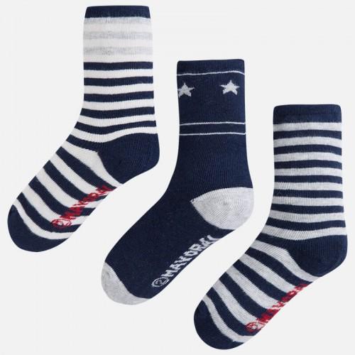 Комплект носков из трех пар Mayoral 10035-40