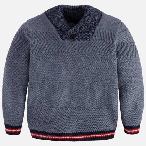 Пуловер Mayoral 4303-28 вязаный