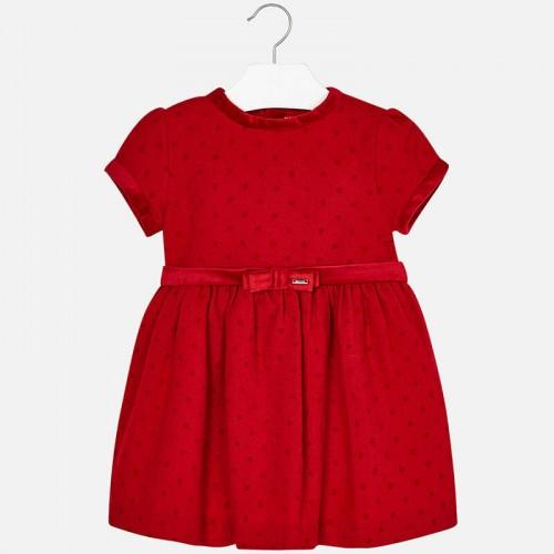 Платье красное Mayoral 4950-28