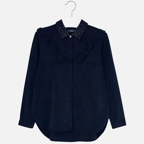 Блузка Mayoral 7120-21 синяя