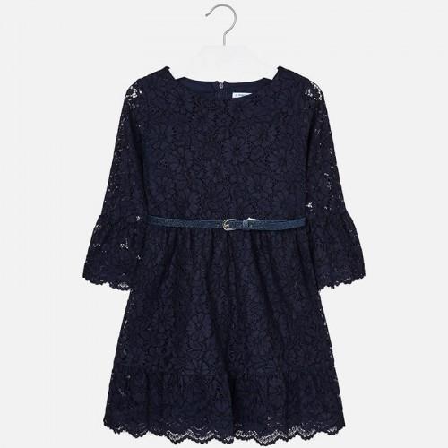 Гипюровое платье Mayoral 7930-90