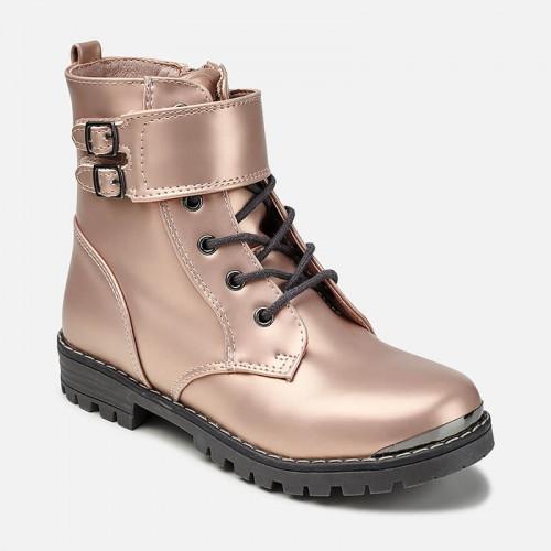 "Ботинки ""розовый металлик"" Mayoral 44837-56"